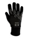Unisex Touch Screen Winter Running Gloves Black