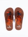 Skin Brown Men Designed Flip-Flop
