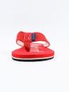 Red Men Designed Flip-Flop