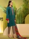 Zinc Printed Cambric Unstitched 2 Piece Suit for Women