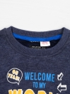 WELCOME TO MY WORLD- SWEATSHIRT FOR BOYS-10288
