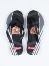 Unisex Black & Grey Comfort Flip Flop