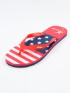 Unisex Red & Blue Comfort Flip Flop