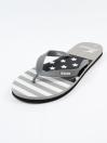 Unisex Grey & Black Comfort Flip Flop