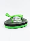 Unisex Green & Black Comfort Flip Flop