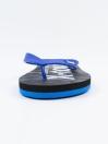 Unisex Blue & Black Comfort Flip Flop