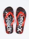 Unisex Red & Black Comfort Flip Flop
