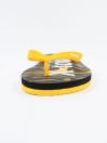Men Yellow & Black Comfort Flip Flop