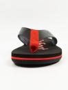 Black & Red Men Designed Flip-Flop