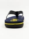 Blue & Yellow Men Designed Flip-Flop