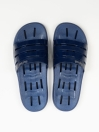 Navy Blue Drainage Holes Quick Drying Bathroom Slippers