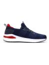 Men Navy/Dark Red Sports Lifestyle Shoes