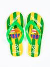 Men Green & Yellow Comfort Flip Flop
