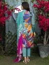 Zinc Printed Lawn Unstitched 3 Piece Suit for Women